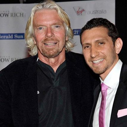 Kane & Richard Branson